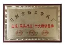 山东(家具行业)十大畅销品牌