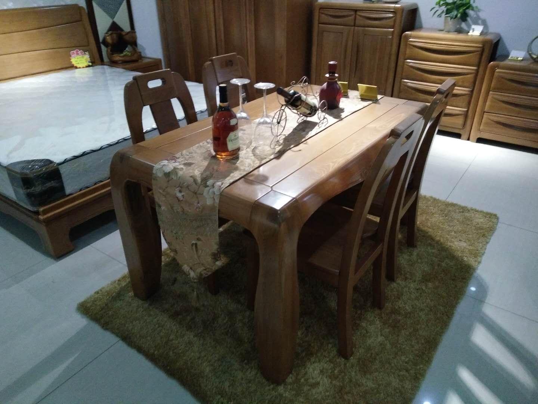 日照实木桌椅