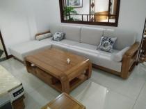 日照实木沙发