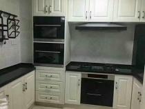 日照实木家具整体厨房定做