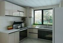 日照整体厨房开放式厨房橱柜定制