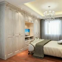实木高低床图片