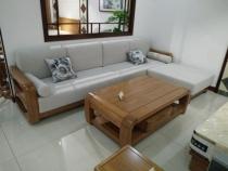 实木沙发图片
