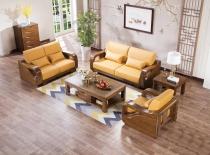实木沙发五件套