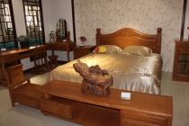 青岛中式实木床
