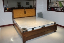 美式实木床